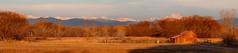 Sandstone Ranch (Bryce Bradford) Tags: ranch panorama barn sunrise landscape sandstone colorado farm longmont olympus western 50200mm zuiko swd ep2 f2835