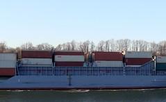 OOCL NEVSKIY - IMO 9231834 (arnekiel) Tags: canal jan feeder containership kiel nok freighter oocl levensau sietas schwartenbek ooclnevskiy 9231834