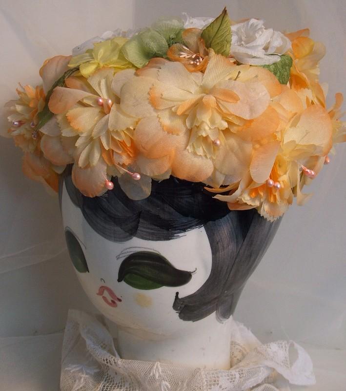 Flower Garden Vintage Hat
