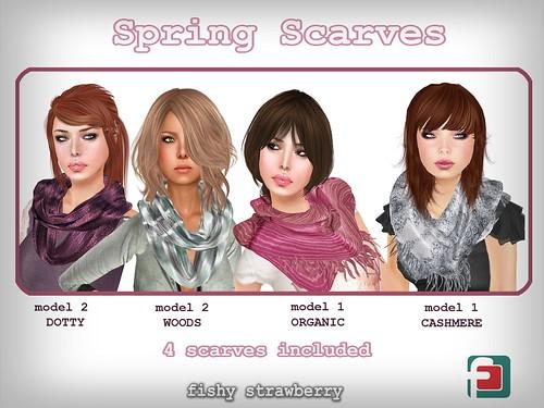 spring scarves TDR