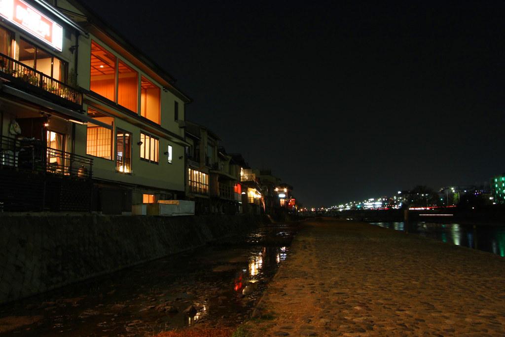 Kamogawa Night Photo (3)