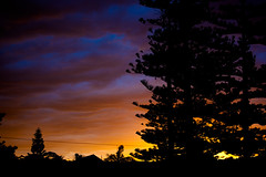 Manly Sunset West (coastalcreature) Tags: sunset sky clouds manly gradient
