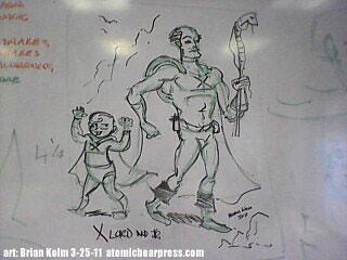 Schulz Museum spring break class 3-25-11