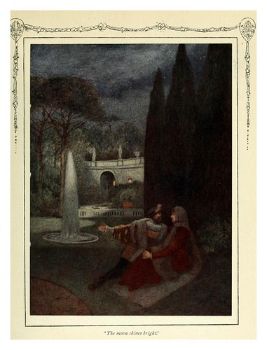 014-La luna brilla-Shakespeare's comedy of the Merchant of Venice 1914- James D. Linton