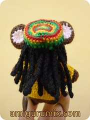 The Brownie boy (amigurumix-aka-zurecia) Tags: dreadlocks mouse crochet jamaica brownie amigurumi dreads rasta ratn amigurumix