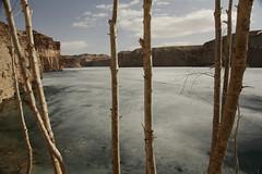 Band-e-Amir, frozen (jeromestarkey) Tags: afghanistan ski tourism nationalpark skiing newyear afghan touring bamiyan afg nowruz bamyan bamian akf agakhan 1390 bandeamir nowroz ec0 touraroundtheworld raheabrisham