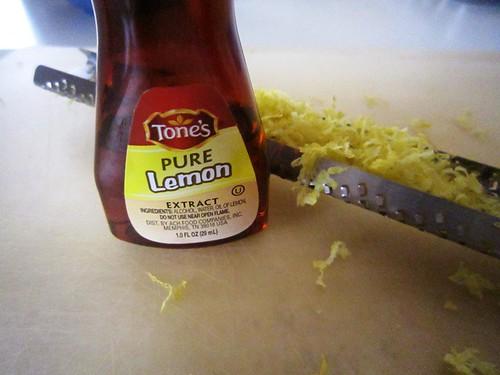 Add lemon flavors