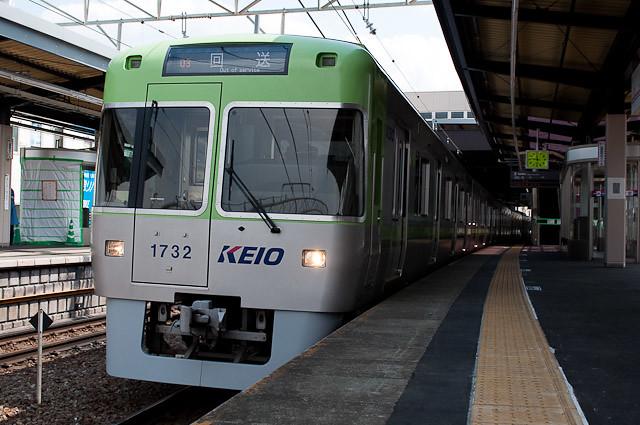 京王電鉄井の頭線1000系1032F 3ゥ回送