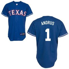 Texas Rangers #1 Elvis Andrus Blue Jersey (Terasa2008) Tags: jersey texasrangers 球员 cheapjerseyswholesale cheapmlbjerseys mlbjerseysfromchina mlbjerseysforsale cheaptexasrangersjerseys