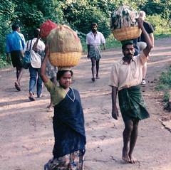 Village road (gusthed) Tags: road woman india man tamil nadu kolli
