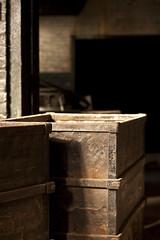 IMG_9900 (stevenbley) Tags: nottingham mill abandoned rust theater factory bell bokeh pennsylvania lace decay clocktower grease pa urbanexploration oil maze scranton grime breeze bowlingalley planks decayed woodfloors urbanexploring urbex sneak looms scrantonlace guerillahistorian