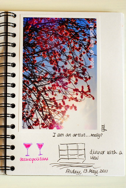 Creative Notebook 5. Friday
