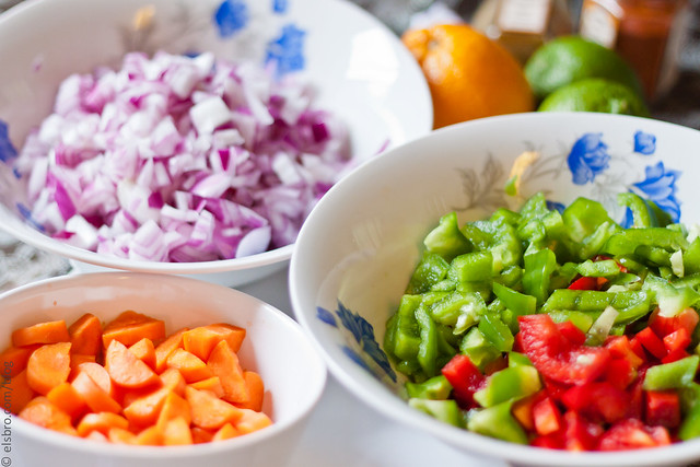 Colourful Vegetables