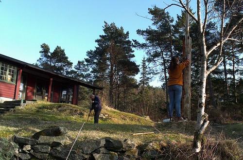 Dugnad 2014 nr1: Stig og Hanna