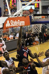 Matthew Atewe made Layup (dbadair) Tags: basketball war university eagle florida gators auburn tigers sec uf 2014