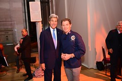 Secretary Kerry Poses for a Photo With Celebrity Chef Bobby Flay (U.S. Department of State) Tags: johnkerry bobbyflay unga transatlanticdinner morganlibrary newyork