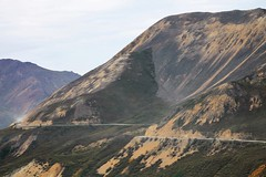 Denali NP ~ Tundra Wilderness Tour (karma (Karen)) Tags: denalinp usparks tundrawildernesstour alaska mountains erosion roads dust