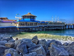 Redondo Beach Pier (shinnygogo) Tags: southbay beach california waves waterfront morning sunday losangeles redondobeachpier hdr wow landscape sunny day pacificocean californiacoastal municipalpier endlesspier pleasurepier horseshoepier