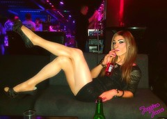 Resting My Legs (jessicajane9) Tags: tv cd tg lgbt m2f trans tgirl xdress crossdressing transvestite transgender legs nylons tights minidress feminization pinkpunters