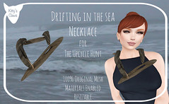 Kitty's Claws: Drifting in the Sea Necklace (Kitty Revolver) Tags: stuffmyinventory upcycle freebie secondlife secondlifefashion secondlifehunt secondlifejewelry driftwood kittysclaws secondlifemainstore