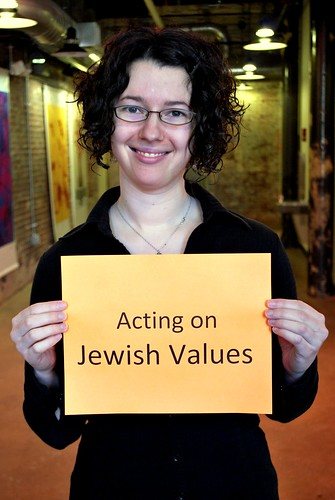 Joanna Lubkin is fighting to act on Jewish values