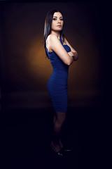 Anna im Studio 2 (Arpad Anderegg) Tags: portrait people woman girl studio nikon frau d3 mensch studiofotografie