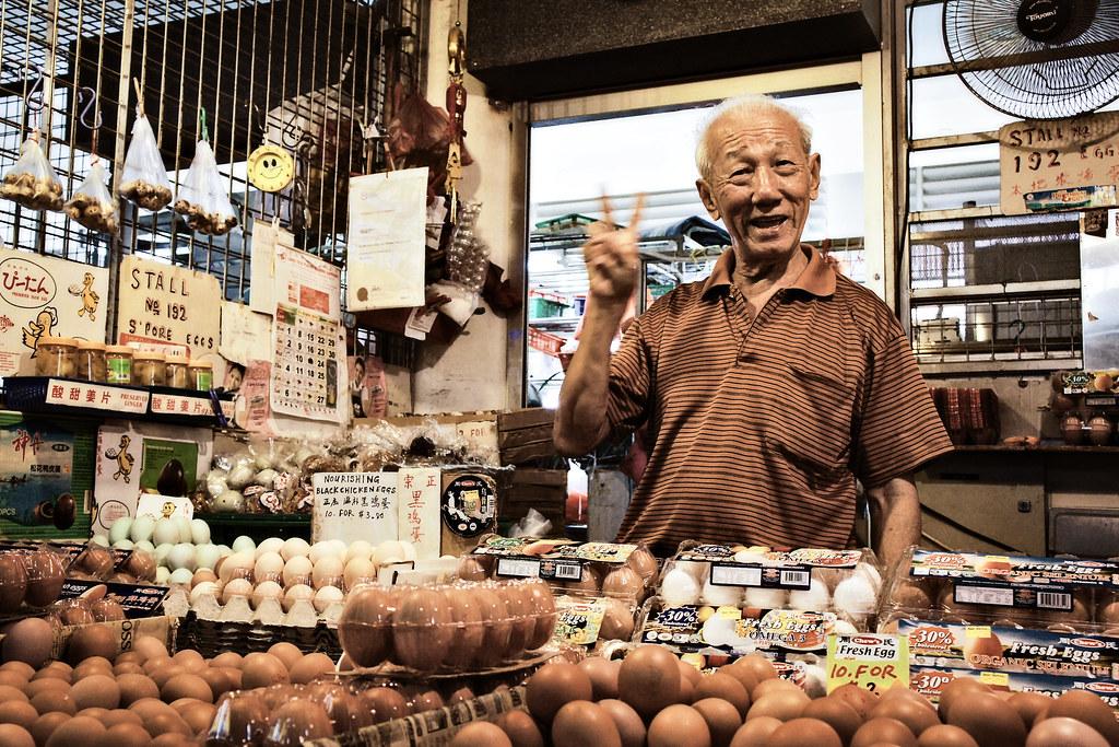 Egg Uncle, Tiong Bahru Market