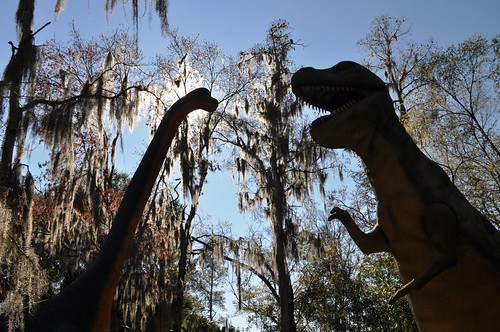 Wordless Wednesday: Rawr! Dinosaur World, Fla.