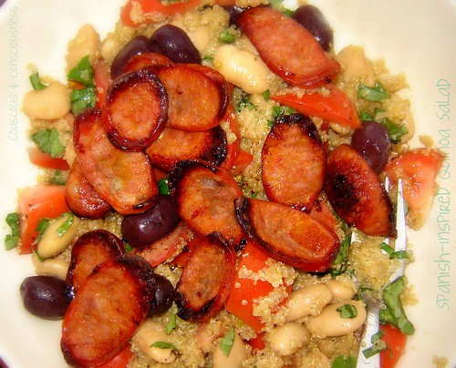 Spanish-inspired Quinoa Salad 3