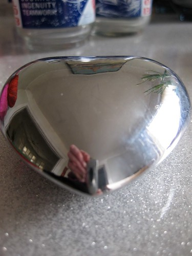 Metal bell heart