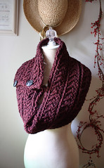 Bordeaux cowl / shoulder warmer (phydeaux designs) Tags: winter classic burgundy knittingpattern elegant neckwarmer accessory cowl shoulderwarmer phydeaux phydeauxdesigns deepgarnet knittingknitknitted