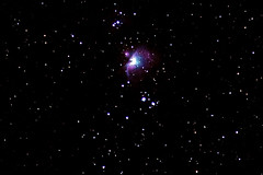 Orion Nebula #3 (jah~) Tags: sky stars space nebula astrophotography orion piggyback tracked nonmod
