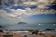 View of Pittwater (Dawn Woodhouse) Tags: blue sea sky beach nationalpark sydney australia 1001nights palmbeach pittwater kuringgai finegold thethreeangels