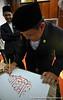 ceramah khat 2 ed (17) (KaryaWan.org) Tags: art calligraphy brunei seni jawi khat kaligrafi unissa