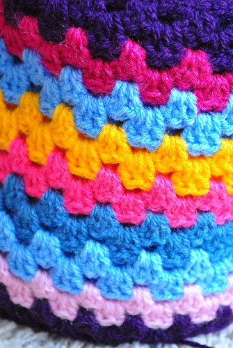 """Big Happy"" blanket - January 2011"