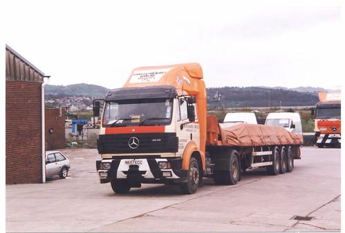 Pritchard Bros - N657ECC - Mercedes Actros