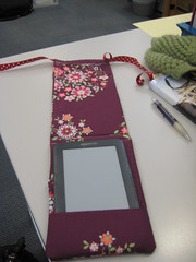 Kindle cover: unfolded.