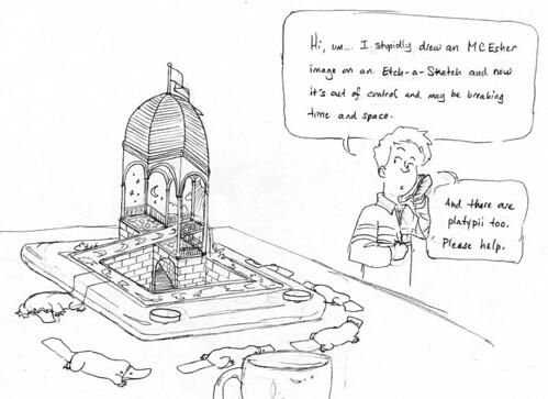 Esher-sketch
