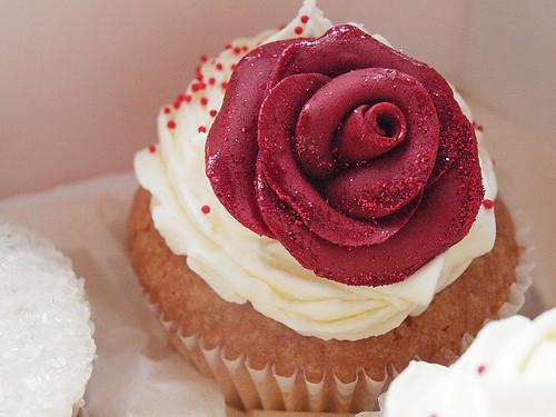 valentine's cupcake