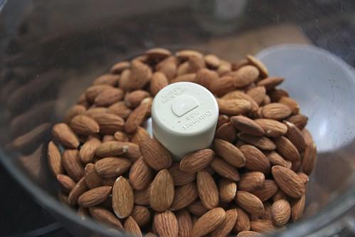 almond grinding