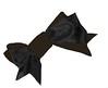 brown and black velvet ribbon