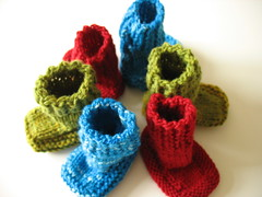 Knitting Stitches Puk : Ravelry: Ballee Baby Booties pattern by Puk Vossen