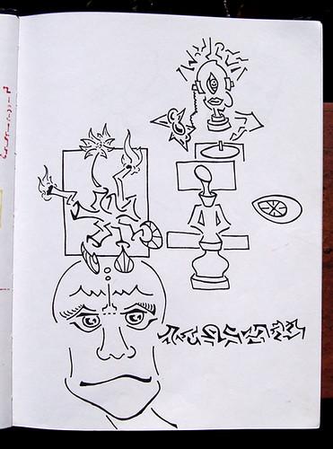 sketchbook #4 - august 1998 - april 1999