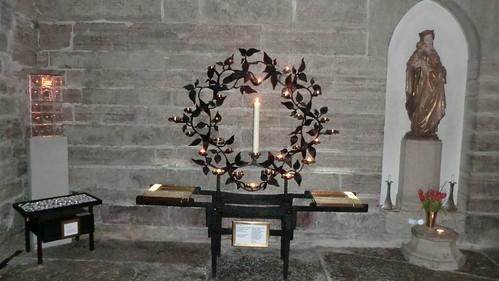 Ljusbäraren i Klosterkyrkan, Vadstena