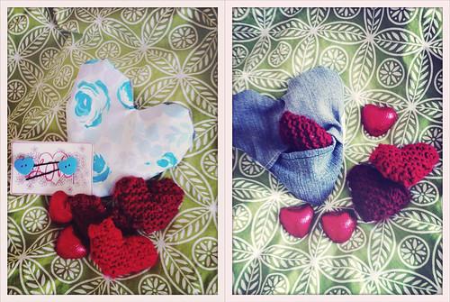 Strumpet's Crumpets Valentine Craft Swap