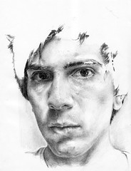 (Germnger) Tags: selfportrait pencil drawing 7b autorretrato hb 2h grafito germnvicencio