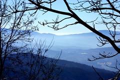 ... ogni luogo  raggiungibile (FranK.Dip) Tags: desktop wallpaper sky panorama alberi montagne natura cielo vista paesaggi paesaggio rami monti brindisi orizzonte sfondo sfondi foschia distanze spettacolare distanza frankdip