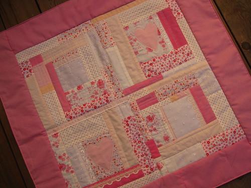 PinkQuiltedBlanket
