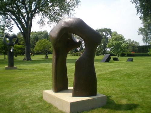 Large Torso Henry Moore 'large Torso Arch'