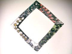Shrinkies doodle frame
